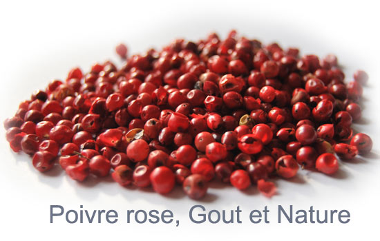 baies roses en cuisine Archives - Le blog du poivre on